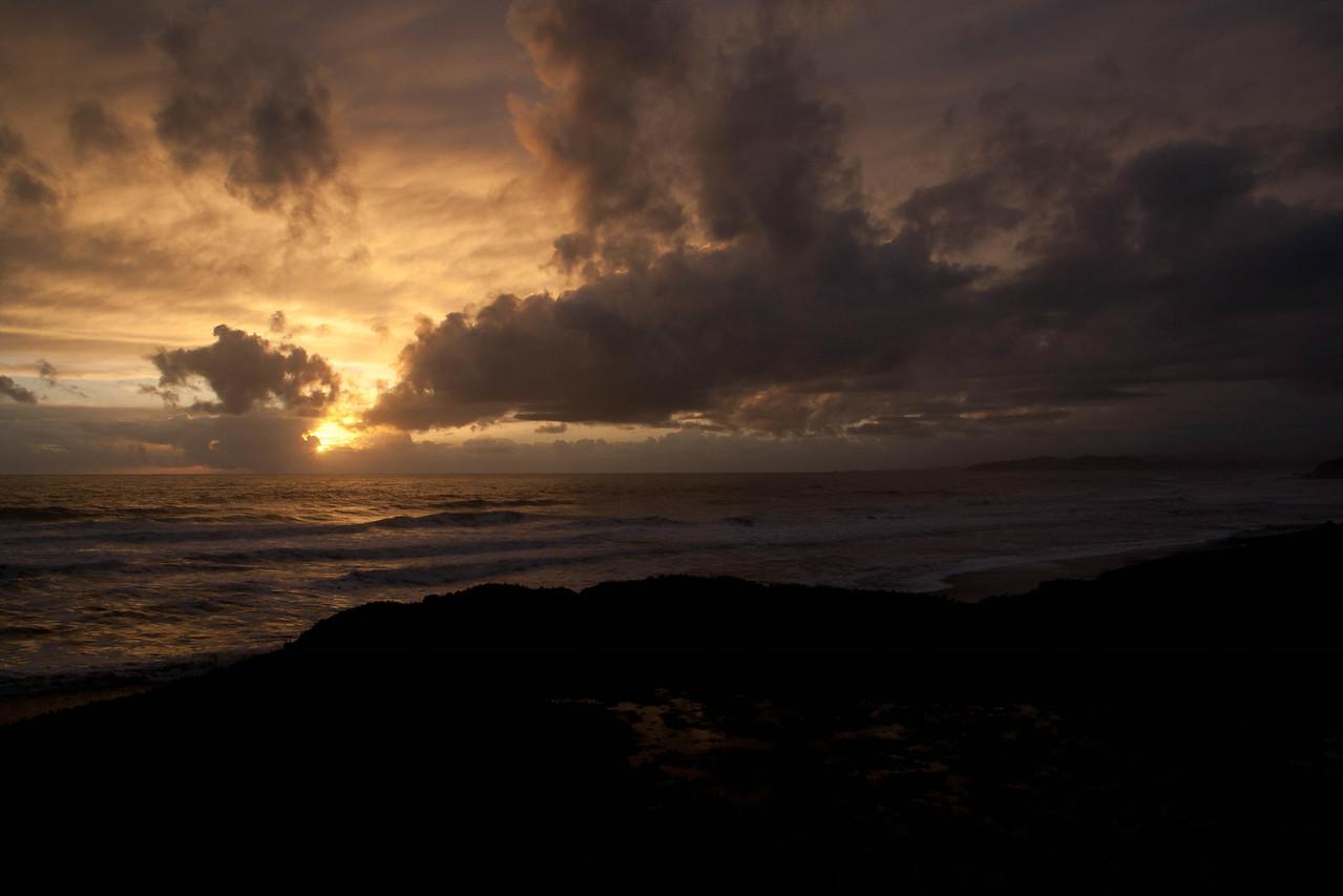 Sunset over Big Sur